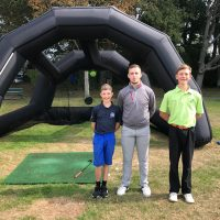 Golf Bubble a 'Hit' at Family Fun Day