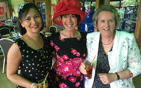 Fundraisers Enjoy A Day at the Races