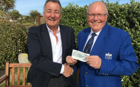 NEWS: Foundation benefits from L'Ancresse Golf Club Donation
