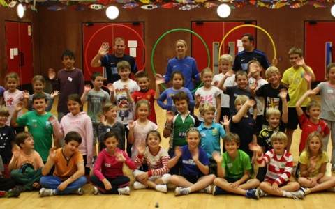 'Active' children thank 'Quids in Sports' sponsor for 2013