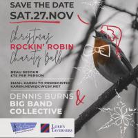 Save the Date – Christmas Rockin' Robin Charity Ball